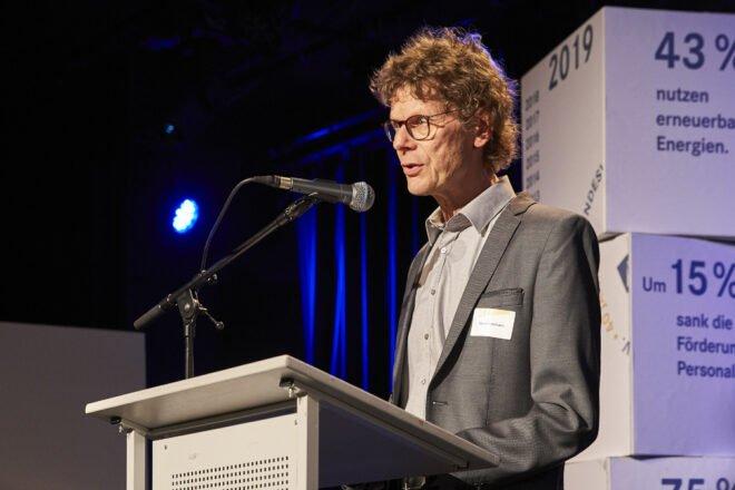 Gerd Dallmann bei seinem Impulsvortrag zum 40. Jubiläum des Bundesverbandes am 15. Mai 2019