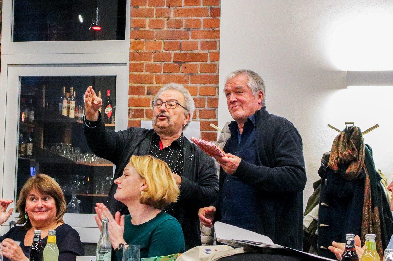 Georg Halupczok bei der Verabschiedung von Rainer Bode © Ka Jahn