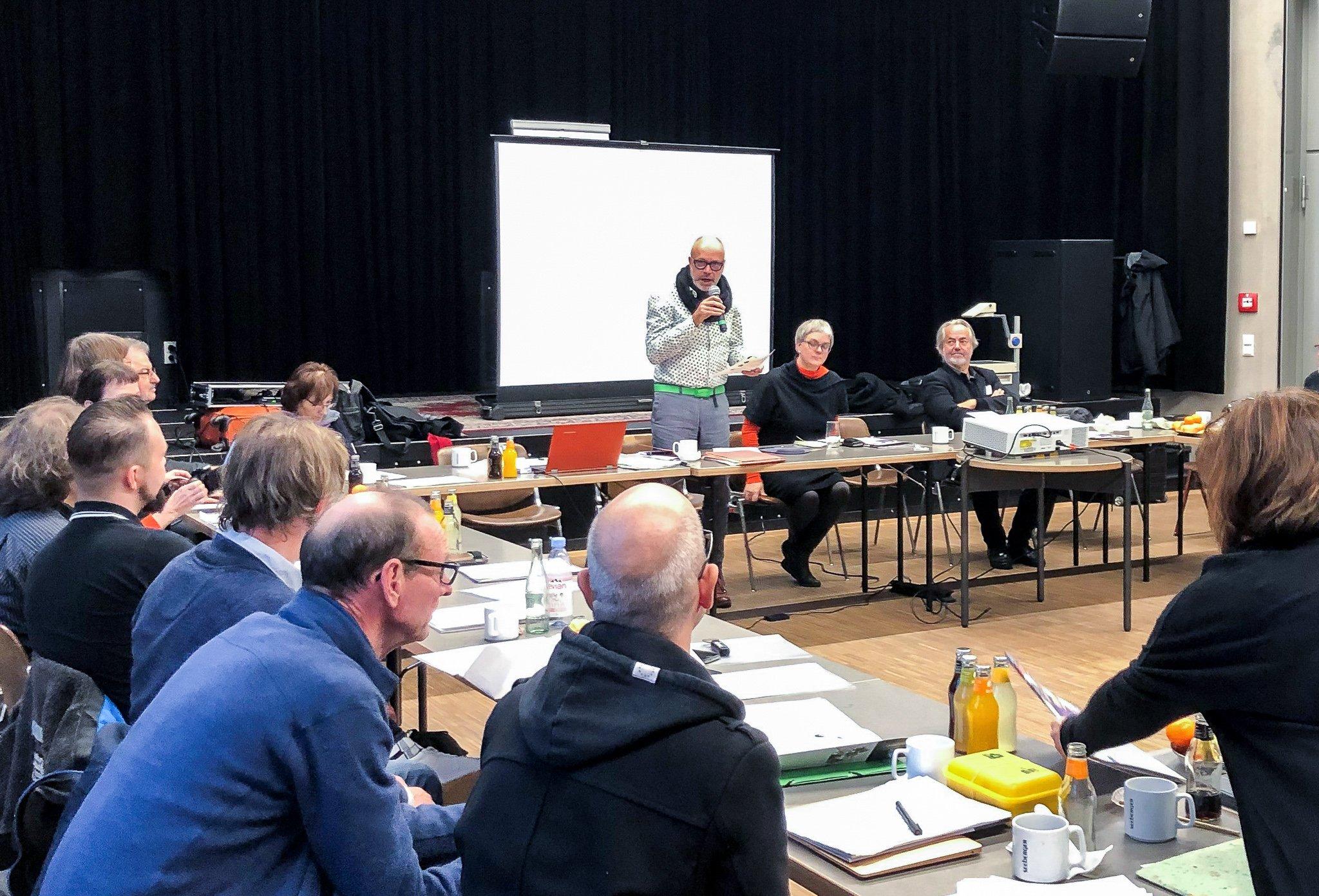 Mitgliederversammlung Kassel 2019, Wahl des Vorstandes, © Nikolaus Hausser