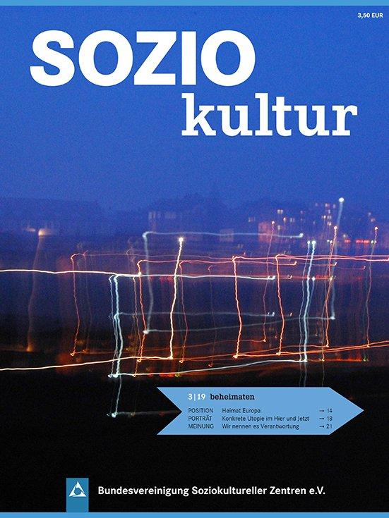 Titelbild Soziokultur