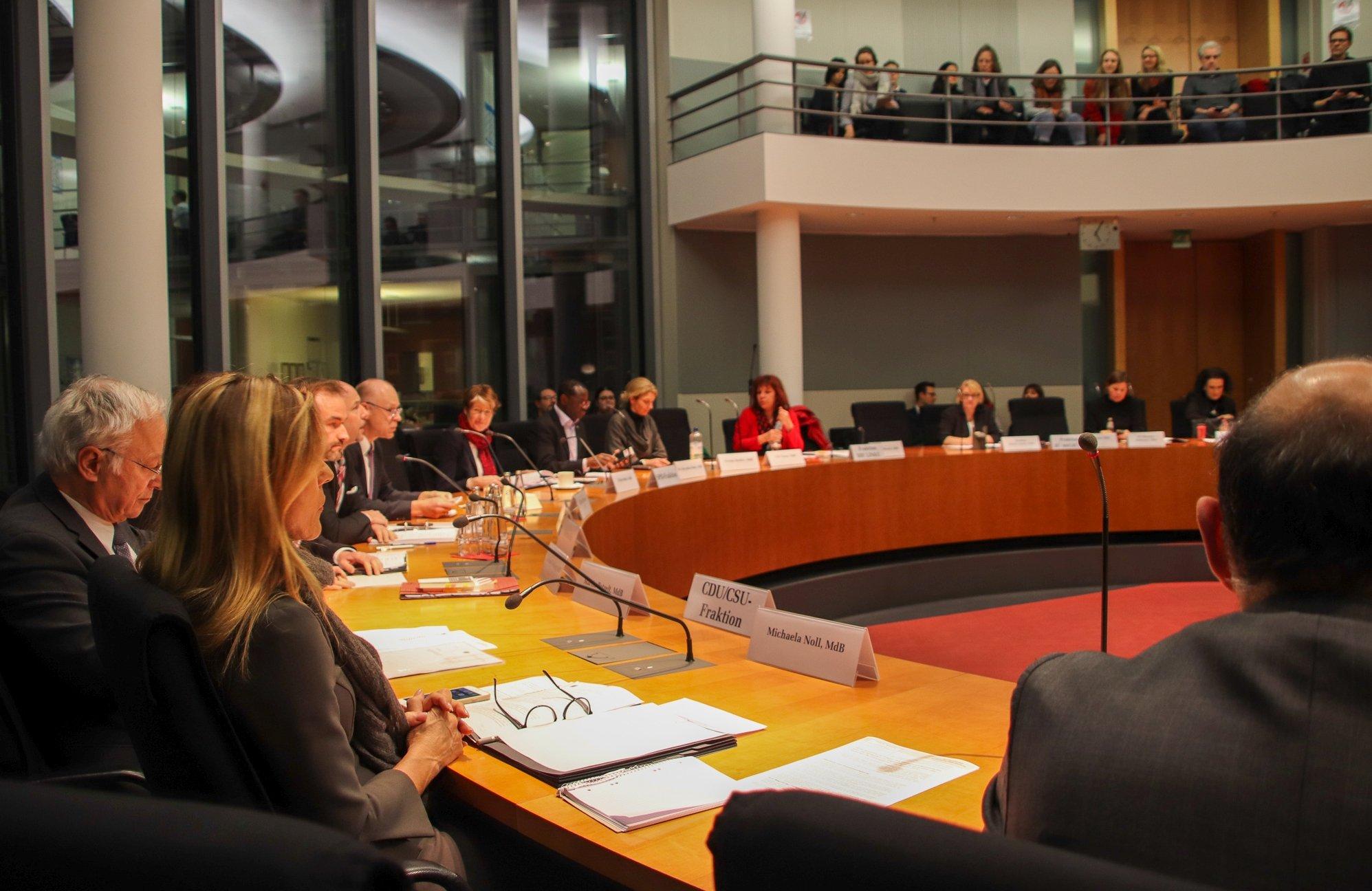 Öffentliche Anhörung Gemeinützigkeitsrecht - Unterausschuss Bürgerschaftliches Engagement, Foto © Nikolaus Hausser